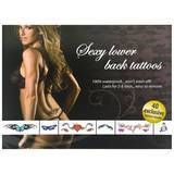 Adult Body Art Sexy Lower Back Temporary Tattoos