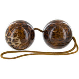 Naughty Box Leopard Print Ben Wa Love Balls