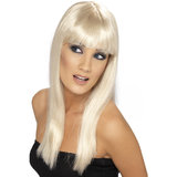 Glamourama Long Straight Wig with Fringe