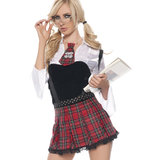Seven Til Midnight Skull School Girl