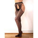 Classified Fishnet Suspender Tights