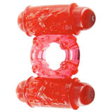Shag Factory Double Decker Twin Bullet Vibrator Love Ring