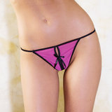 iCollection Mesh Crotchless G-String