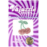 Vajazzle Double Cherries Body Tattoo