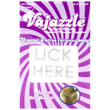 Vajazzle Lick Here Body Tattoo