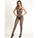 Rene Rofe Halter Neck Fishnet Bodystocking