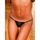 Baci Lingerie Sheer Adjustable Thong
