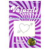 Vajazzle Heart with Arrow Body Tattoo