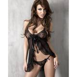 Anais Isida Sheer Lace Babydoll and Thong