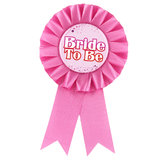 Deluxe Bride To Be Award Ribbon Badge