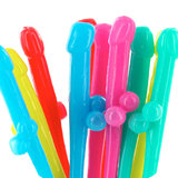 Rainbow Willy Straws (10 Pack)