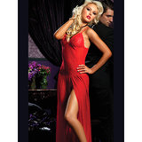 Seven Til Midnight Floor-Length Chemise and G-String Set at BeCheeky!