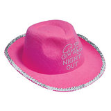 Girls Night Out Diamante Cowboy Hat