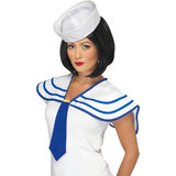 Sexy Sailor Neck Tie and Collar