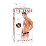 Fetish Fantasy 10 Inch Hollow Strap On Dildo Penis Extender