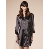 BlueBella Pretty Purrfect Satin Nightshirt