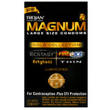 Trojan Magnum Large Condoms Gold Collection (10 Pack)