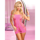 Pink Lipstick Amnesia Seamless Mini Dress