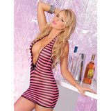 Pink Lipstick Call Me Candi Mini Dress