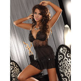 Livia Corsetti Stella Shimmering See Through Babydoll