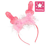 Willy Pink Flashing Fluffy Boppers