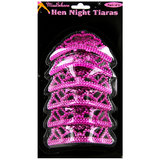 Mini Hen Party Tiaras (6 Pack)