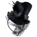 Mini Burlesque Top Hat