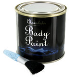 Chocolate Body Paint in a Tin