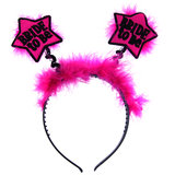 Star Bride to Be Pink Fluffy Boppers