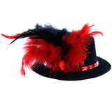 Burlesque Mini Top Hat Fascinator