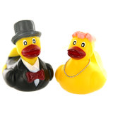 Mr & Mrs Rubber Duck Gift Set