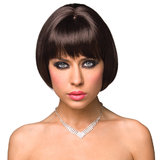 Shiela Sexy Bob Wig with Fringe
