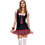 Music Legs Miss Cutie Pie Schoolgirl Costume