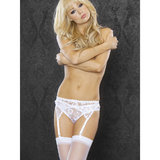 Fantasy Lace Garter Belt with Thong