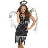 Fever Dark Fallen Angel Halloween Costume