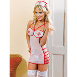 iCollection See Through Sexy Nurse Costume Set