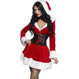 Fever Hooded Sexy Santa Dress with Belt, plus FREE Christmas Bikni at Lovehoney!
