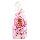 Pin Up Marshmallow Candy Stars with Heart-Shapes 100g