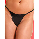 Allure Leather Lace and Leather G-String