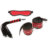 Allure Leather Triple X Red Passion Bondage Kit