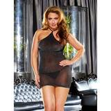 Lapdance Plus Size VIP Glitter Mini Dress