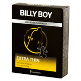 Billy Boy Extra Thin Condoms (3 Pack)