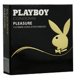 Playboy Pleasure Condoms (3 Pack)