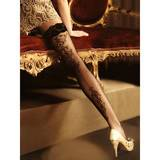 Roza Ballerina Genezis Baroque-Style Hold Up Stockings