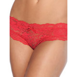 Coquette Floral Lace Crotchless Knickers