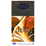 EXS Delay Ribbed and Dotted Condoms (6 Pack)