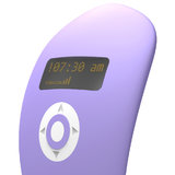 Wake-Up Vibe Alarm Clock Rechargeable Vibrator