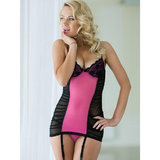Soft Line Casey Sheer Chemise and G-String Set