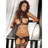 Livia Corsetti Sussanna Bra and Garter Belt Set