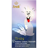 Amor Extra Thin Condoms (12 Pack)